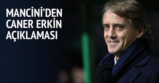 Mancini: Caner Erkin için henüz zaman var