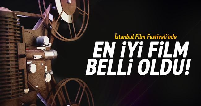 İstanbul Film Festivali'nde en iyi film belli oldu