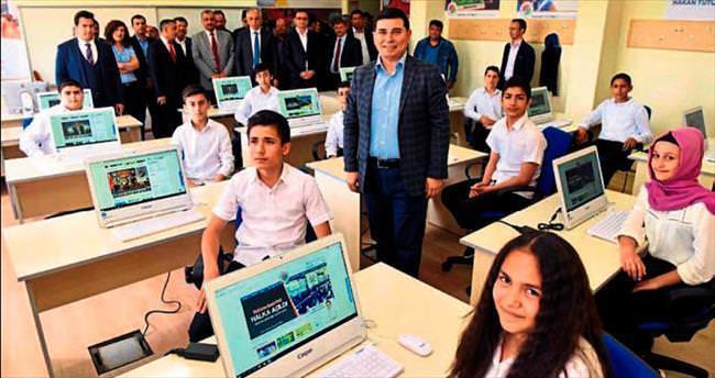 Bilgisayar sınıfları giderek çoğalıyor