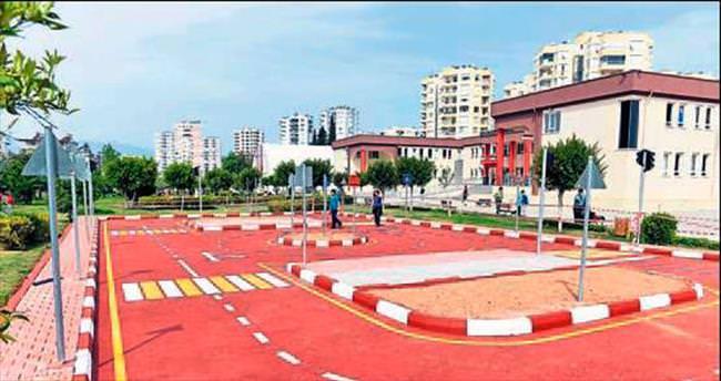Trafik Parkı bitirildi