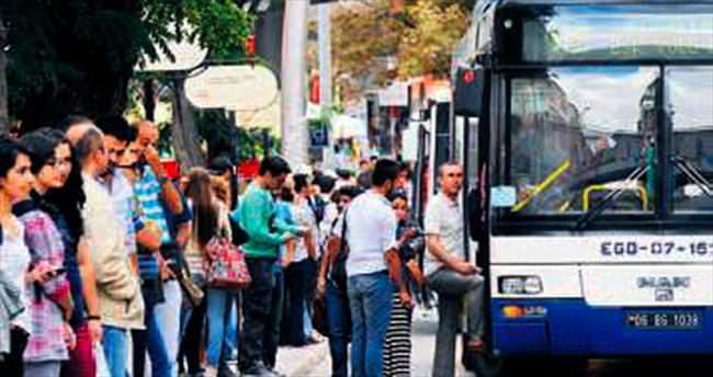 EGO otobüsleri de polis gözetiminde