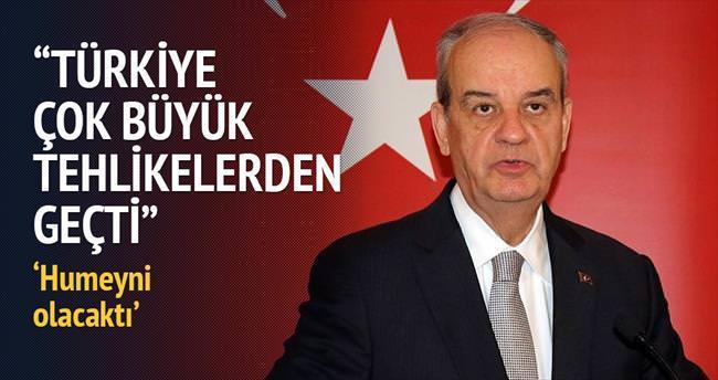 Başbuğ: Erdoğan'dan başkası paralelle mücadele edemezdi