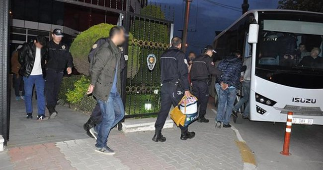Balıkesir'de terör operasyonu: 7 tutuklama