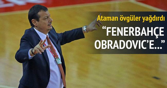 'Kulüp Obradovic'e inandı'