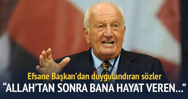 'Yaradandan sonra bana hayat veren Fenerbahçe taraftarıdır'