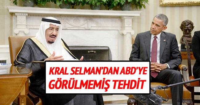 Kral Selman'dan ABD'ye görülmemiş tehdit