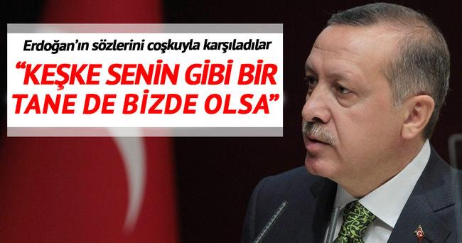 Kosova'dan Erdoğan'a büyük sevgi