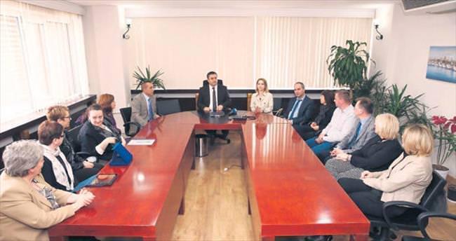 Avrupa Birliği heyeti Kayseri'ye hayran kaldı