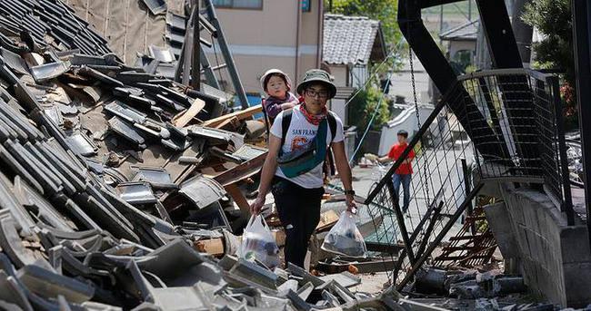 Japonya'da son 24 saatte 400'den fazla artçı deprem