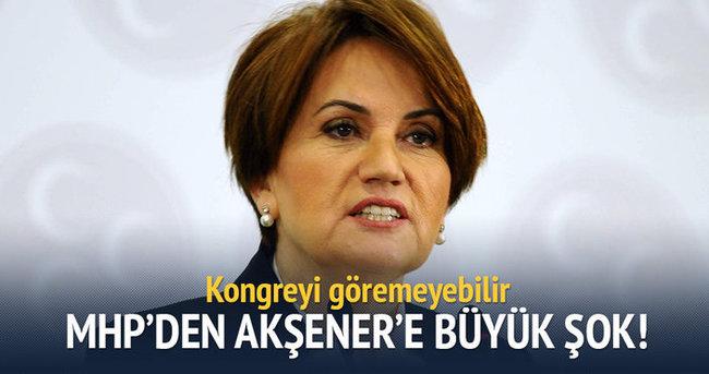 MHP'den Akşener'e büyük şok!