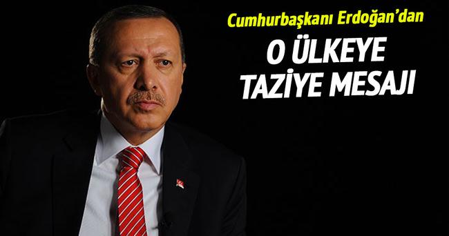 Cumhurbaşkanı Erdoğan'dan Ekvador'a taziye mesajı