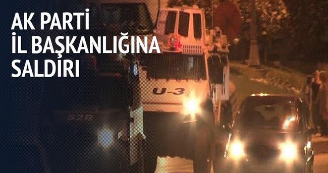 AK Parti İstanbul İl Başkanlığı'na saldırı!