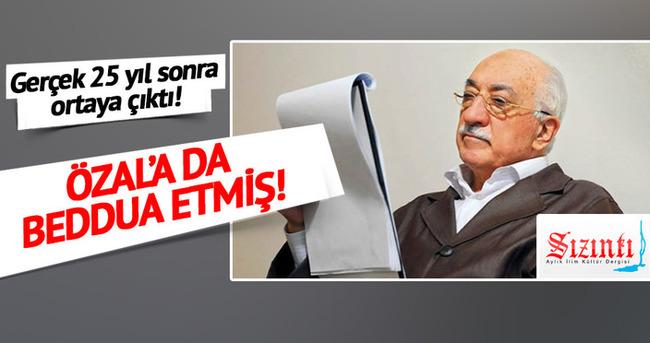 Fetullah Gülen Turgut Özal'a da beddua etmiş!