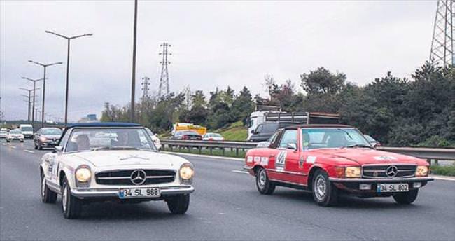Klasik araba tutkunları İstanbul'da buluşacak