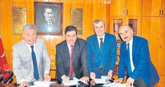 Çiftçiler için kurs protokolü imzalandı