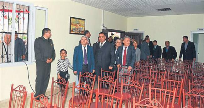 Tarsus Güney Mezarlığı taziye evi törenle açıldı