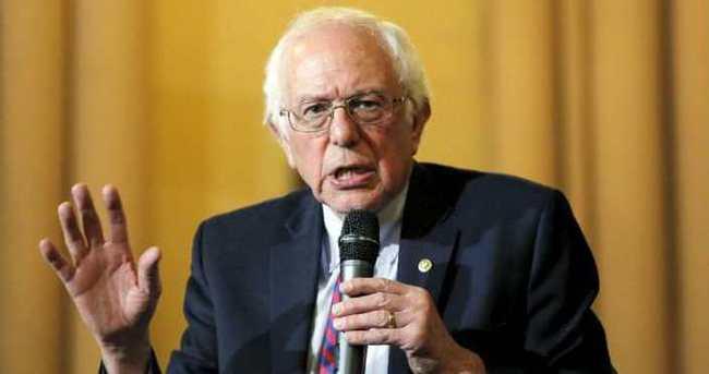 Sanders'tan Filistin çıkışı
