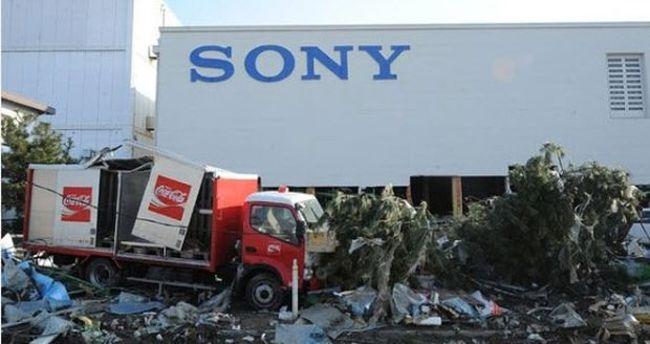 Sony'ye deprem darbesi