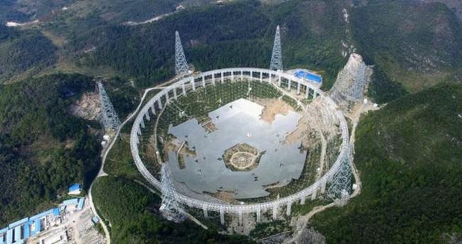 Çin'den dünyanın en büyük teleskobu