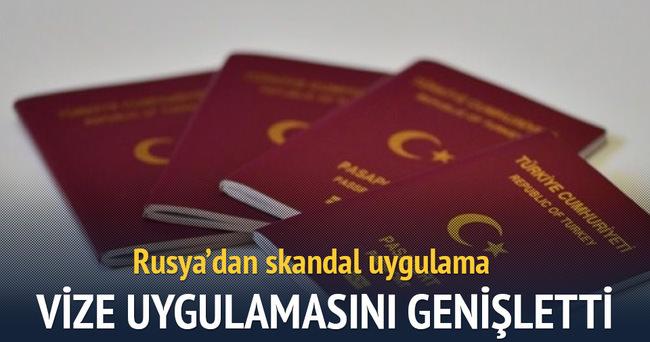 Rusya, Türklere yönelik vize uygulamasını genişletti