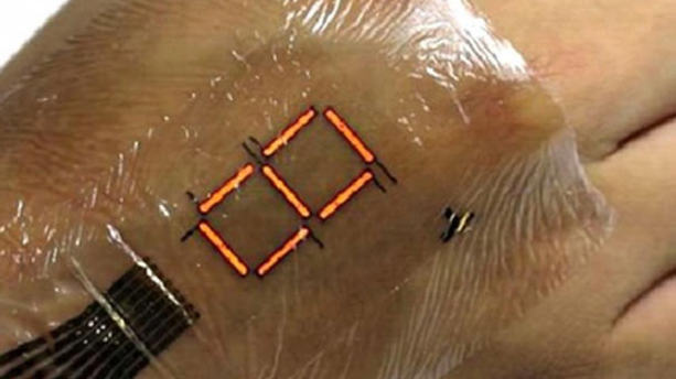 Japon bilim adamlarından elektronik deri cihazı