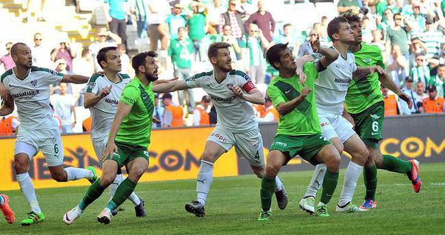 Bursaspor yeni stadında ilk kez yenildi