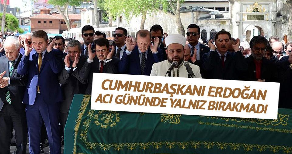 Cumhurbaşkanı Erdoğan, Yazar Tuna'yı yalnız bırakmadı