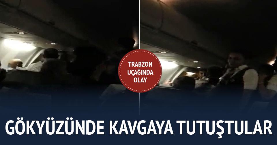 Sarhoş yolcu uçakta olay çıkardı