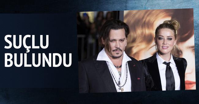 Johnny Depp'in eşi Amber Heard suçlu bulundu