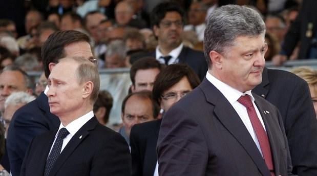 Putin ile Poroşenko arasında sürpriz telefon görüşmesi