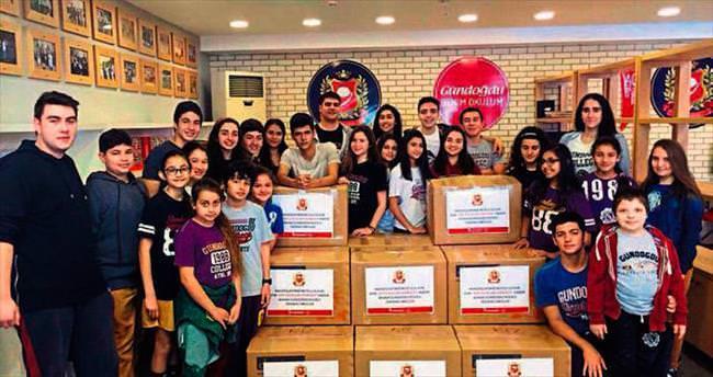 AGK'lı öğrencilerden oyuncak kampanyası