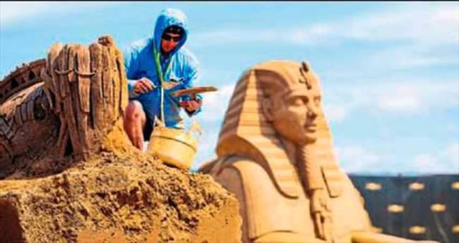 Kum heykeller için geri sayım başladı