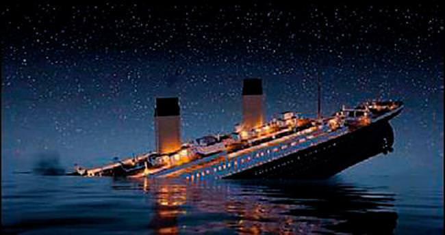 Titanik'in batışı canlandırıldı