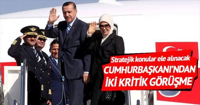 Erdoğan, Azerbaycan ve Hırvatistan'a gidiyor