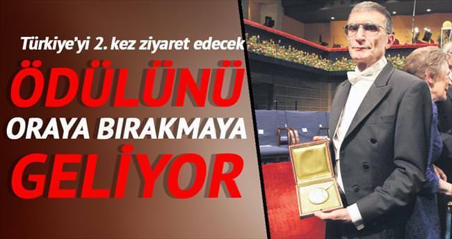 Nobel ödülünü Anıtkabir'e bırakacak