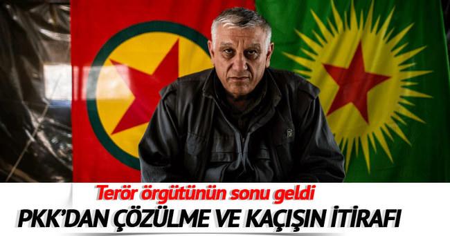 PKK'da çözülme ve kaçışın itirafı