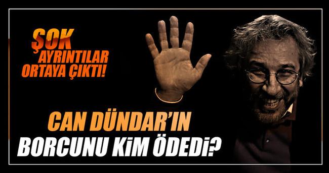 Can Dündar'ın borcunu kim ödedi?