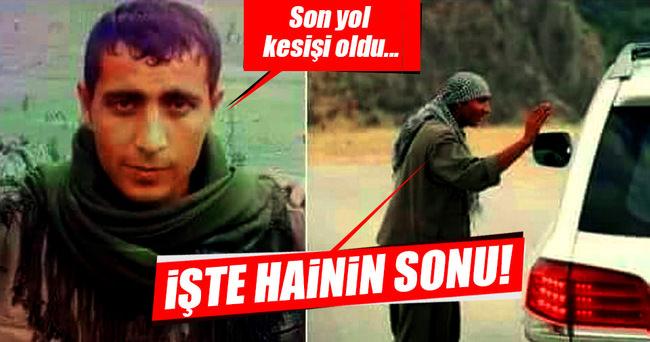 Yol kesen PKK'lı öldürüldü!