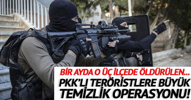 3 ilde 16 terörist daha öldürüldü