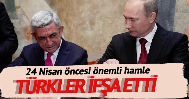 Türkler Rus-Ermeni işbirliğini ifşa etti