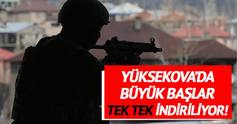 Gri listedeki terörist Yüksekova'da etkisiz hale getirildi