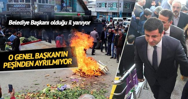 Ağrı'da pazar esnafından belediyeye protesto