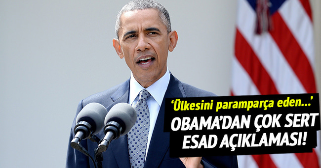 'Esad berbat bir lider'