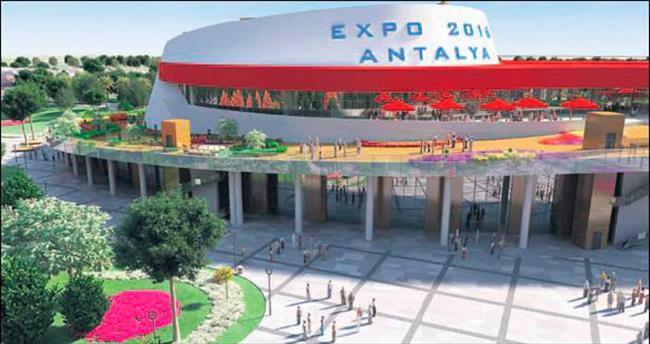 Expo 2016 Antalya'da Sabah gazetesi rüzgârı