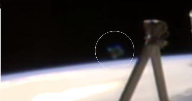 NASA Canlı Yayını Kesti Sebep UFO!