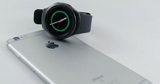 Samsung Gear S2 iPhone'a uyumlu oldu!