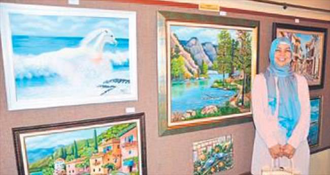 Halk Eğitim'den resim sergisi
