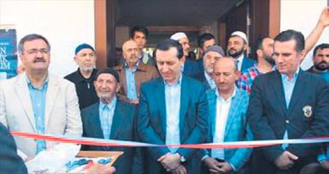 Çeştepe Camisi törenle açıldı