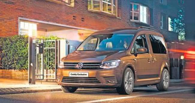Volkswagen Caddy sınıfının standartlarını belirliyor