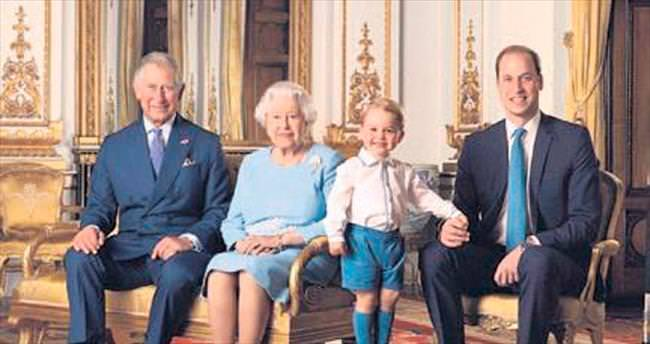 90'ıncı yaşa özel Kraliçe pulu...